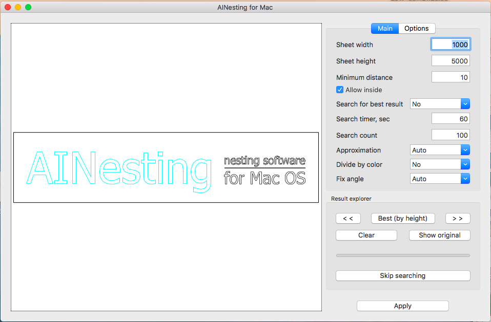 AINesting for MAC 1.0